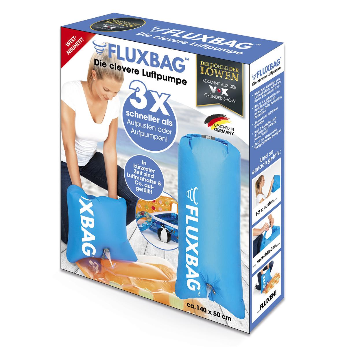Bild 1 von Fluxbag Luftpumpe blau