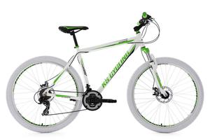 "KS Cycling Kinderfahrrad Mountainbike Fully 20"" Zodiac rot-weiß RH 31 cm"