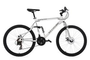 "KS Cycling Mountainbike MTB Fully Triptychon 26"" weiß RH 51 cm"