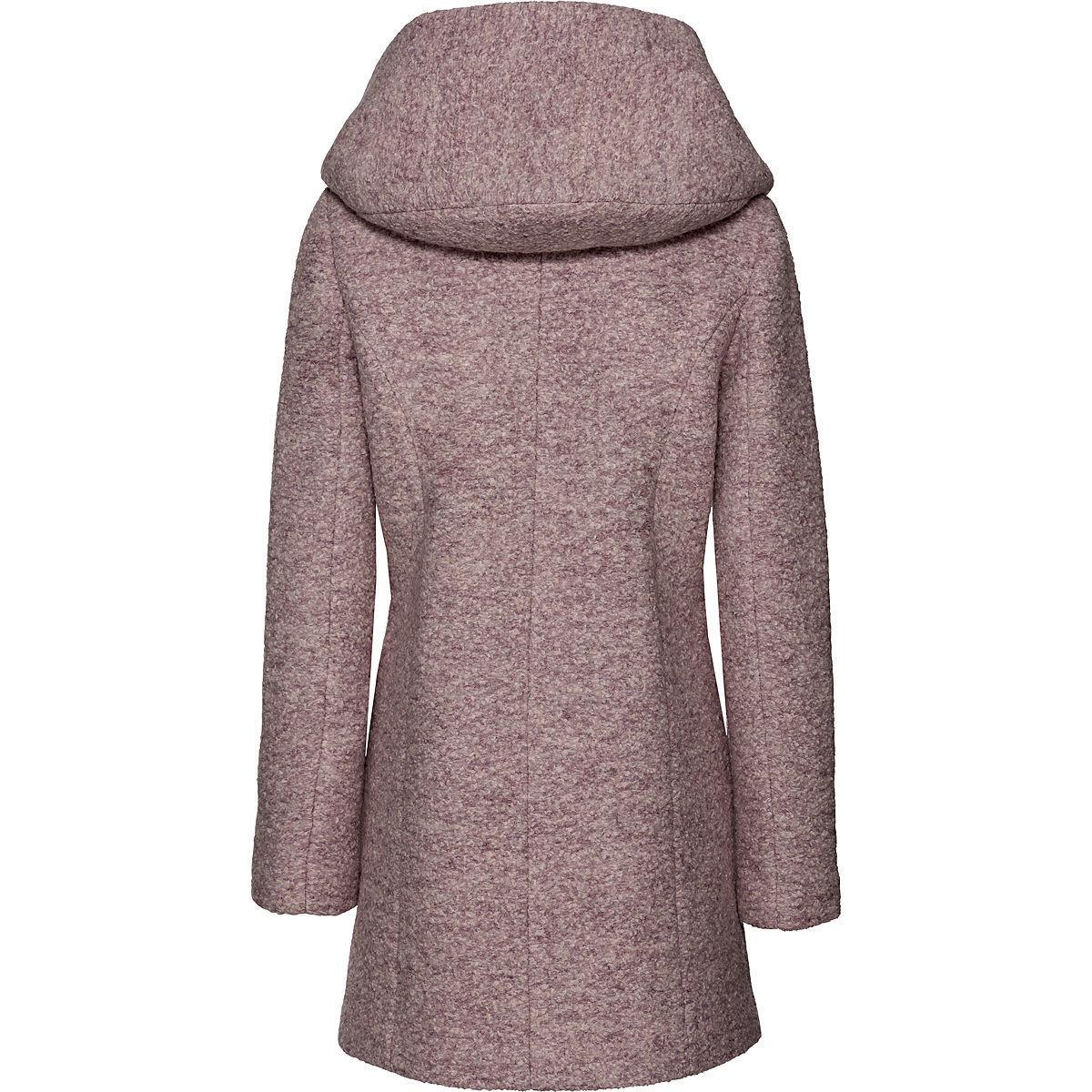 Bild 2 von Only Damen Mantel mit Kapuze