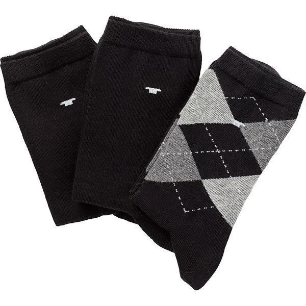 Tom Tailor Damen Socken, 3er Pack, Argyle-Muster von Karstadt ...