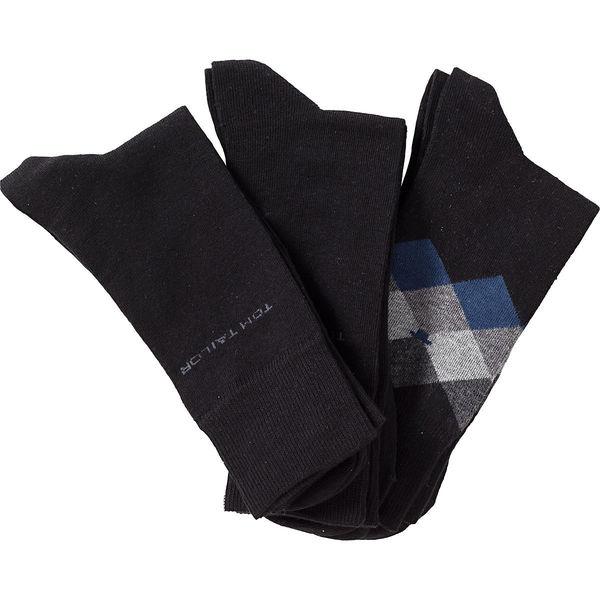 Tom Tailor Herren Socken, 3er Pack, Argyle-Muster von Karstadt ...