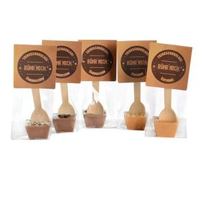 Trinkschokolade Cappuccino oder Caramel, 45g 5fach sortiert (Variante nicht wählbar)