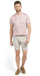 Tom Tailor Travis Regular Bermuda-Shorts, cement beige