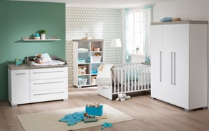 Paidi - Babyzimmer Kira in weiß