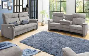 Carina - Trapez-Sofa TS 215 in anthrazit