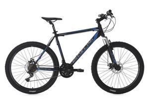 KS Cycling Mountainbike Hardtail MTB 26'' Sharp schwarz-blau RH 51 cm
