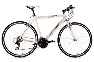 KS Cycling Fitnessbike 28'' Lightspeed weiß Alu-Rahmen RH 58 cm