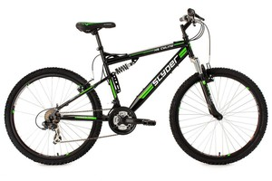 KS Cycling Mountainbike Fully 26'' Slyder schwarz RH 51 cm