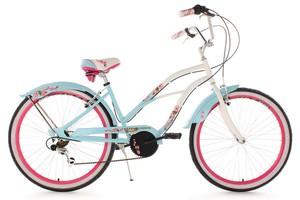 KS Cycling Beachcruiser 26'' Cherry Blossom hellblau RH 42 cm
