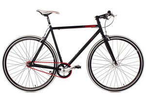 KS Cycling Fixie Fitness-Bike Single speed 28'' Essence schwarz RH 59 cm
