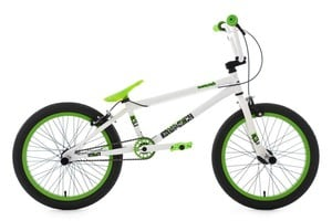 KS Cycling BMX Freestyle 20'' Twentyinch weiß-grün