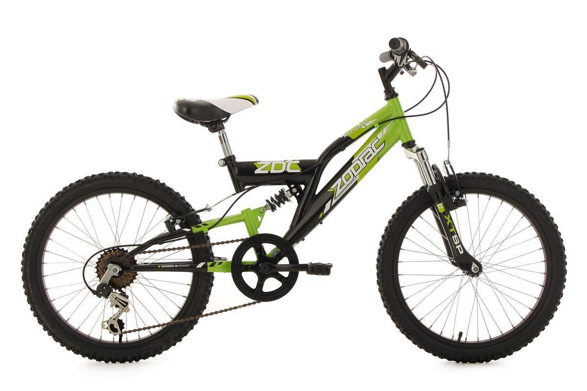 Bild 1 von KS Cycling Kinderfahrrad Mountainbike Fully 20'' Zodiac grün-schwarz RH 31 cm