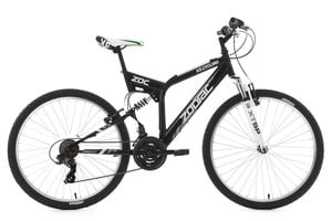 KS Cycling Mountainbike Fully 26'' Zodiac schwarz RH 48 cm
