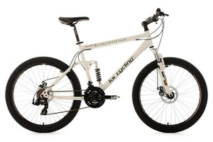 KS Cycling Mountainbike vollgefedert 26'' Insomnia weiß RH 50 cm