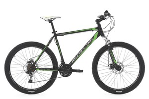 KS Cycling Mountainbike Hardtail MTB 26'' Sharp schwarz-grün RH 51 cm