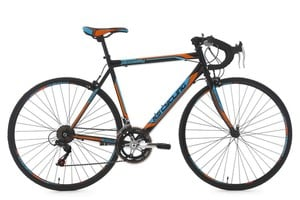 "KS Cycling Rennrad 28"" Piccadilly schwarz-orange-blau RH 59 cm"