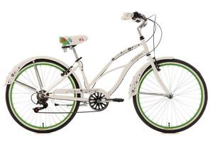 "KS Cycling Beachcruiser Damenfahrrad 26"" Bellefleur 6 Gänge RH 40 cm"