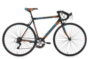 """KS Cycling Rennrad 28"""" Piccadilly schwarz-orange-blau RH 56 cm"""