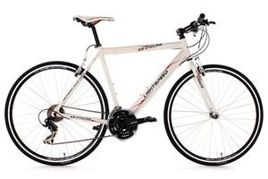 KS Cycling Fitnessbike 28'' Lightspeed weiß Alu-Rahmen RH 60 cm