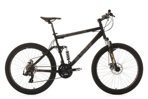 KS Cycling Mountainbike vollgefedert 26'' Insomnia schwarz RH 50 cm