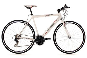 KS Cycling Fitnessbike 28'' Lightspeed weiß Alu-Rahmen RH 56 cm
