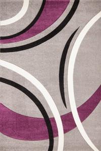 Kayoom Netherlands - Venlo Silber 80cm x 150cm