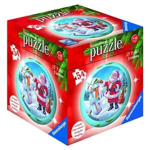 Ravensburger - 3D Puzzleball: Christmas, 54 Teile, sortiert