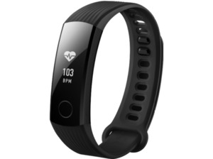 HONOR  Band 3, Fitnesstracker, S-L, TPU, Schwarz