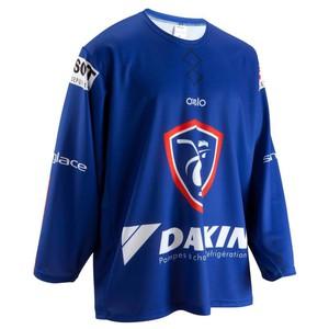 Eishockey-Trikot Frankreich blau CIT DESSAINT