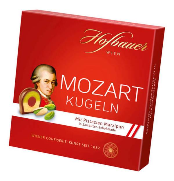 Hofbauer             Mozartkugeln Bitter                  (2 Stück)