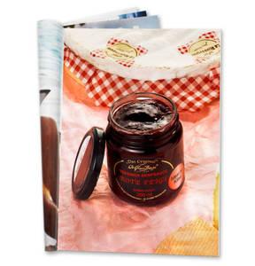 BERGE DELIKATESSEN             Tess. Rote Feigen-Senfsauce 200 ml Glas