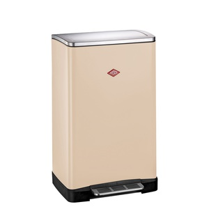 WESCO 2 x 18 l Mülleimer BIG DOUBLE BOY Beige