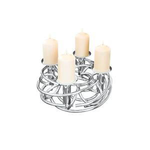 FINK Weihnachten Adventskranz / Kerzenhalter / Dekokranz CORONA Ø 40