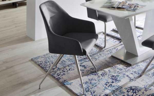 MCA furniture - Stuhl Madita in anthrazit
