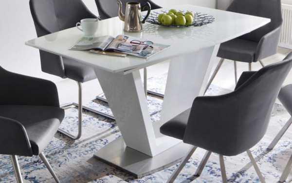 MCA furniture - Esstisch Ilko in weiß
