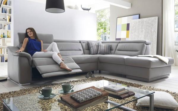 polinova polinova leder wohnlandschaft avantgarde von hardeck ansehen. Black Bedroom Furniture Sets. Home Design Ideas