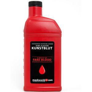 maskworld Flasche Kunstblut, ca. 450 ml