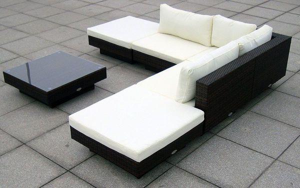 Baidani Rattan Garten Lounge Garnitur Sunqueen Von Karstadt Ansehen