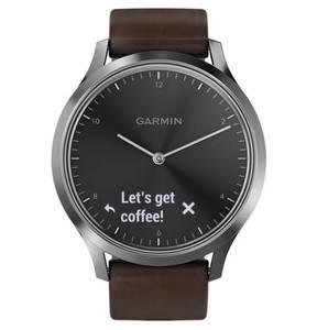 GARMIN             Vivomove HR Premium Schwarz/Silber 40-33-3996
