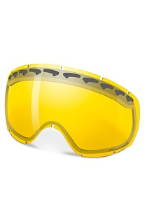 Oakley Crowbar Dual Vented Replacement Lens Snowboardbrille - Gelb