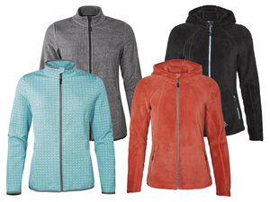CRIVIT® Damen Fleece-/Powerstrechjacke