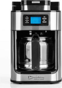Barista Kaffeeautomat Edelstahl mit integriertem Mahlwerk
