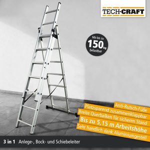 Tech Craft Mehrzweckleiter 430 cm