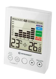 Bresser® Hygrometer MA mit Schimmelalarm weiß