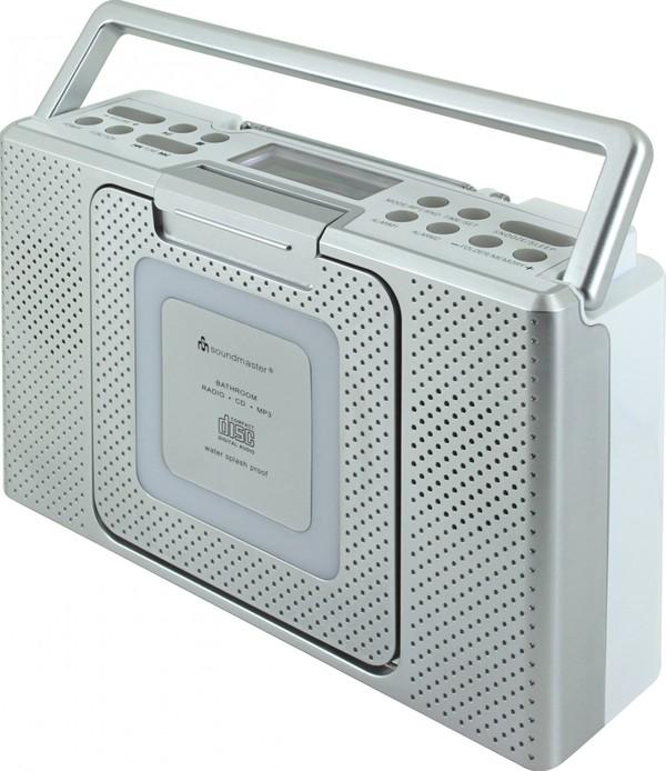 Soundmaster Spritzwassergeschütztes Badezimmer CD/MP3 Radio von ...