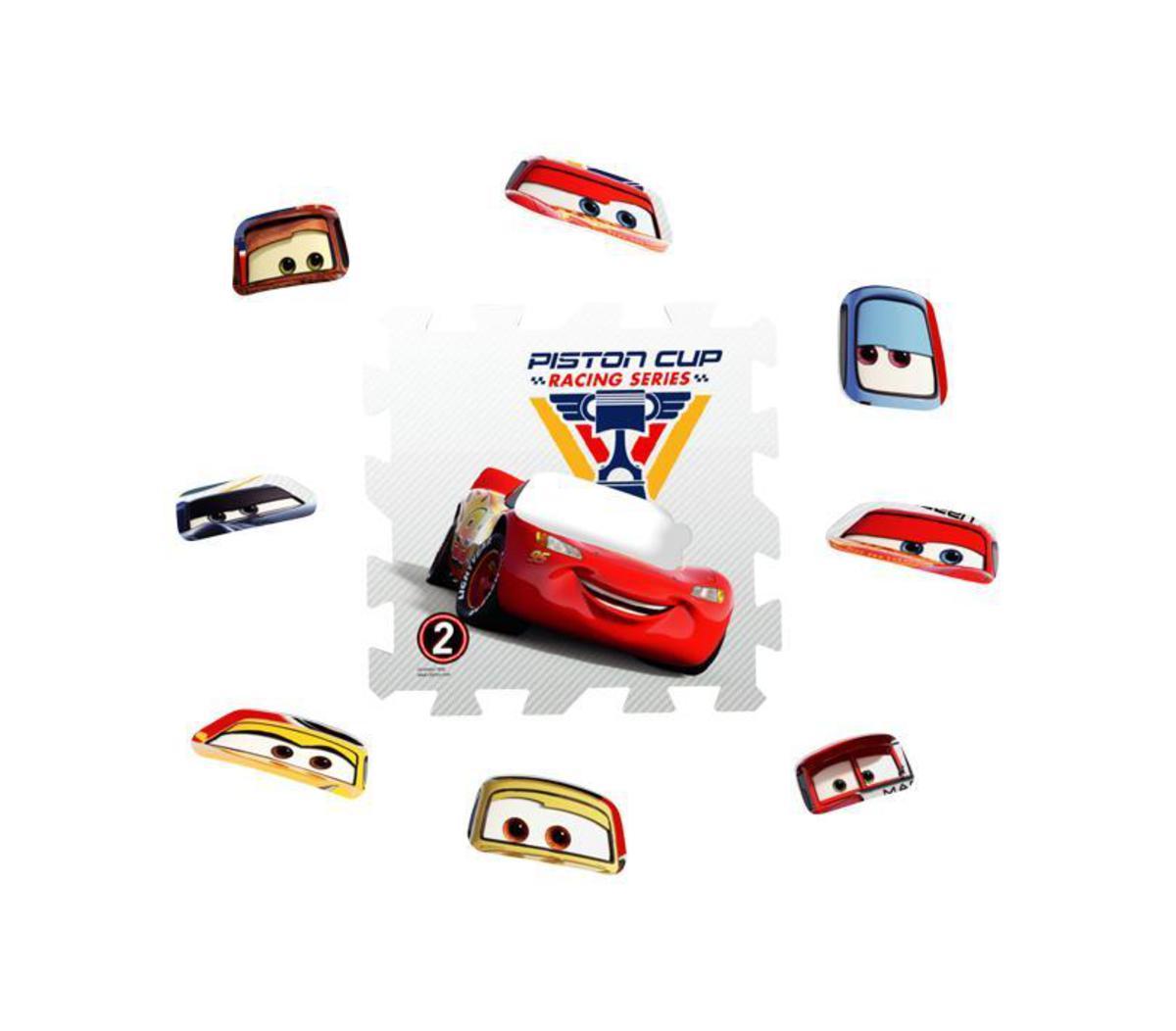 """Bild 2 von Knorrtoys Puzzlematte - """"Cars - Race of a Lifetime""""/ Matten 8/ 16-tlg."""