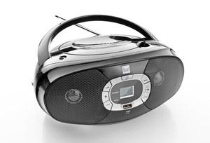 Dual Portable CD-Boombox P390, Schwarz