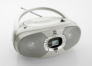Dual Portable CD-Boombox P390, Grau