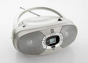 Dual Portable CD-Boombox P390, Grau